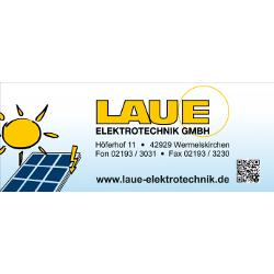 Logo Laue Elektrotechnik GmbH